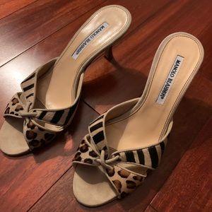 Manolo Blahnik Sandal Heels